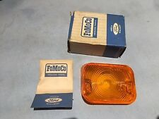 NOS 1966-67 FORD FALCON PARKING LAMP LENS AMBER (LH) PART #C6DZ-13209-A