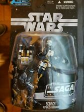 """Hasbro Star Wars The SAGA Collection """"SCORCH REPUBLIC COMMANDO 3.75"""" Action Fig"""