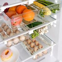 Kühlschrank Box kann Küchenregal Organizer Schrankhalter Aufbewahrungskorb Rack