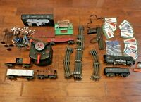 Vintage 1950s Lionel Train Set Lots of Tracks 6 Cars with 1949 Owners Manual etc