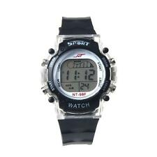 MENS OR BOYS COOL SEMI CLEAR MULTIFUNCTION LCD DIGITAL WATCH WITH ALARM DATE