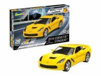 Revell 2014 Corvette Stingray Model Kit EZ Click Plastic Kit New in TWEAKED BOX