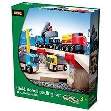 BRIO World Rail & Road Loading Train Set 33210