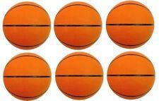 "6 Pack Of Replacement Mini Basketballs / Basket Balls - Size 3 - 7"" Diameter"