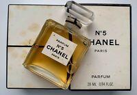 Chanel no 5 parfum 28 ml 0.94 fl oz VINTAGE NEVER opened