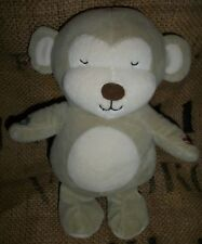 Carters Just One Year You Plush Brown Tan Monkey Play and Record Baby Toy HTF