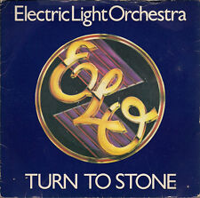 "The Electric Light Orchestra Turn To Stone UK 45 7"" sgl +Pic Slv +Mister Kingdom"