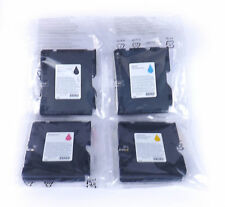 GC41L Genuine Original Ricoh gel  Ink Cartridges Black Cyan Magenta Yellow
