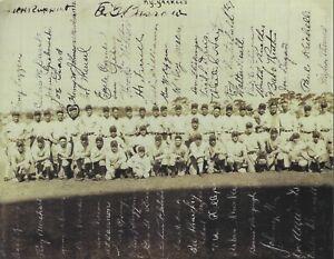 "New York Yankees 1927 ""Murderer's Row"" Team Photo 7 HOF Ruth Gehrig Lazzeri Hoyt"