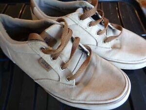 VANS classic beige brown size UK 4.5 EUR 37.0