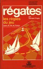 Livre régates les règles du jeu Georges Vinges book