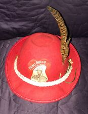 WALT DISNEY  SLEEPING BEAUTY  PRINCE PHILLIP  HUNTSMAN HAT CAP  C. 1959 WOODSMAN