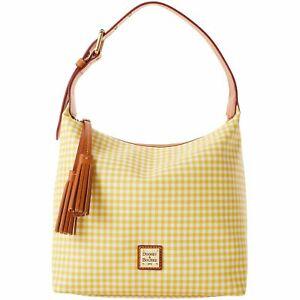 Dooney & Bourke Gingham Paige Sac Shoulder Bag
