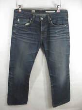 Adriano Goldschmied Brooklyn Slim Boot Dark Wash Jean Men's Size 34x28
