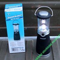 Linterna LED con manivela tipo camping con 4 LED ultrabrillantes 723911