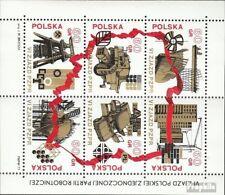 Polen Block 50 (compleet.Kwestie.) gestempeld 1972 Pools Partij van de Arbeid