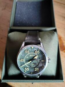 AVI8 Spitfire watch Green