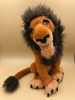 Lion King Scar Disney World Exclusive Plush Kids Soft Stuffed Toy Animal Doll