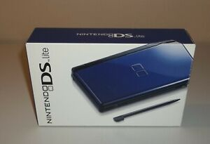 Nintendo DS LIte Cobalt Blue Handheld Original System Box - Box Only