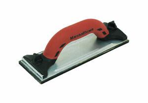 Marshalltown  Aluminum  Hand Sander  3-1/4 in. W x 9-3/8 in. L