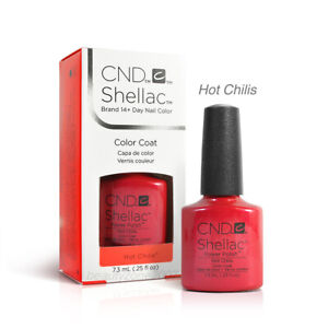 CND Shellac UV Gel Polish - Hot Chilis 0.25oz
