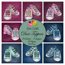 New Dixi Craft Topper Pack Baby Shoes