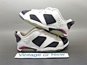 Girls' Nike Air Jordan VI 6 Low Fuchsia Retro GT Toddler 2015 sz 10C