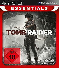 Tomb Raider -- Essentials (Sony PlayStation 3, 2014, DVD-Box)