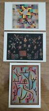 More details for 3x paul klee tate postcards,approx 15cm x10.5cmbrand new.