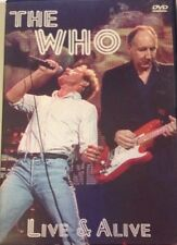 The Who Live and Alive 1dvd