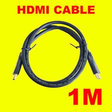 Premium HD 1080P Flexible Cable HDMI chapado en oro 1M de alta velocidad con Ethernet 3D