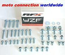 Nuevo paquete de pista RFX 2010 WRF250 WRF450 OEm Tipo Pernos & Cierres Kit en caja