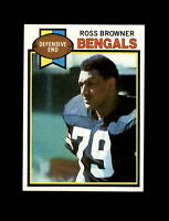 1979 Topps Football #135 Ross Browner (Bengals) NM-MT