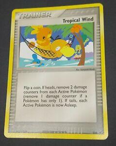 Trainer Tropical Wind 026 Card 2004 Pokemon Black Star Promo World Championship