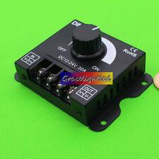 DC 12V /24V 30A 360W 2CH LED Switch Dimmer Controller For Led Strip Single Color