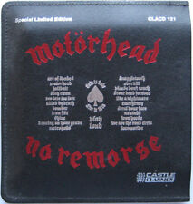 """Motorhead, No Remorse, NEW/MINT RAR CD album in Ltd edition 7"""" size LEATHER CASE"""