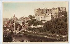 C1123cgt UK Durham Castle Tinted Photochrom vintage postcard
