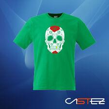 Camiseta calavera mejicana mexicana skull old school catrina (ENVIO 24/48h)