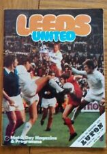 First Division Football League Fixture Programmes (1970-1979)
