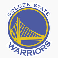 Golden State Warriors Logo NBA DieCut Vinyl Decal Sticker Buy 1 Get 2 FREE