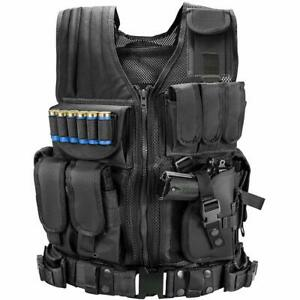Taktische Einsatzweste MOLLE Weste Kampfmittelweste Modular Tactical Combat Vest