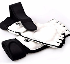 Taekwondo Foot Protector MMA Karate Foot Pads Sparring Gear Pair S