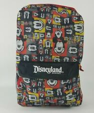 New listing Disneyland Resort Exclusive Mickey Mouse Backpack Back to School Black Red New
