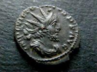 ROMAINE/ TETRICUS 1ER 271-274. ANTONINIEN. R/ LA SANTE DE L'AUGUSTE. TREVES.