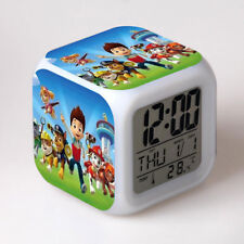 PAW Patrol Led Digital Alarm Clock Glowing Kids Toy Gifts Character Gift