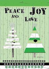 Peace Love And Joy - Mini Garden Flag - Brand New 12x18 Christmas 0096