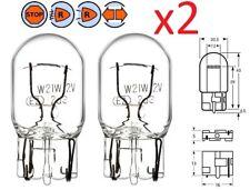 2X AMPOULE 12V 21W WEDGE T20 W3X16d CLIGNOTANT VOITURE FEU ARRIERE STOP FREIN