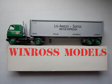 LASME Los angeles Seattle Motor Winross Diecast Truck & Trailer 1:64 042220DBT2