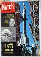 PARIS MATCH 1959  AU SAHARA LA FUSEE FRANCAISE VERONIQUE
