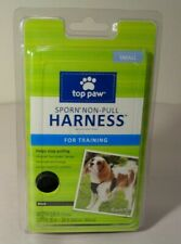 TOP PAW Size Small Sporn Non Pull Harness Black For Training